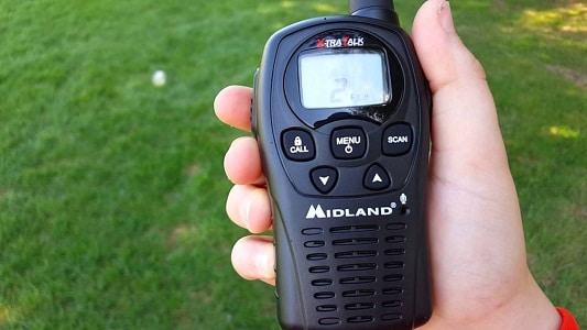 talkie-walkie à portée de main