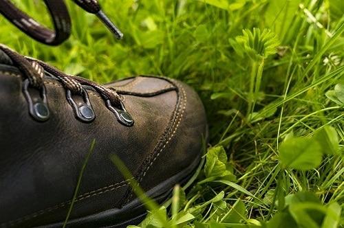 démarrage sur l'herbe