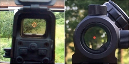 vue holosight vs vue point rouge