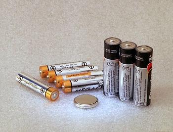 différentes batteries