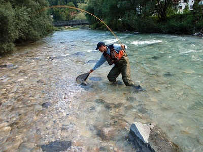 pêche à la mouche en eau douce