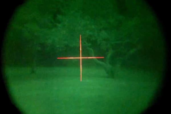 Vue binoculaire de vision nocturne de 1ère génération