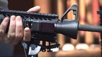 lumière d'arme montée sur fusil