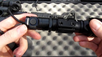 interrupteur d'éclairage d'arme