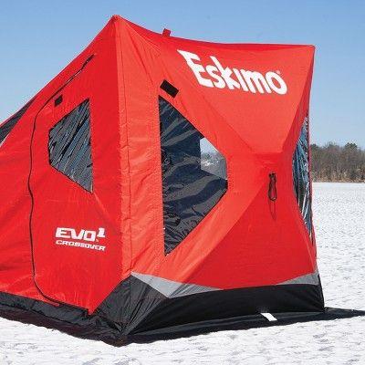 Tente de pêche sur glace de style Flip