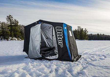 Tente de pêche sur glace de style cabine