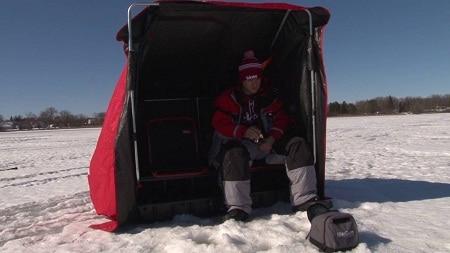 Tente de pêche sur glace Wind Break