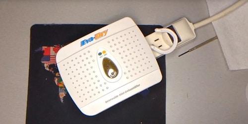 chargement du déshumidificateur Eva-Dry