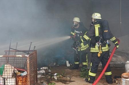 pompiers extinction d'incendie