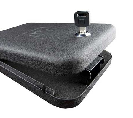 clé de coffre-fort pour arme à feu